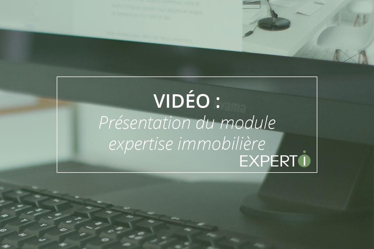 Expert.i Image à la Une Article Vidéo : Présentation du module expertise immobilière