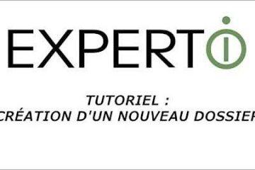 Expert.i • Tutoriel : Création d'un nouveau dossier