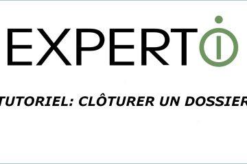 Expert.i • Tutoriel: Clôturer un dossier