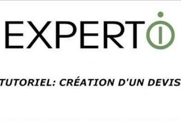 Expert.i • Tutoriel Création d'un nouveau devis