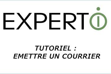Expert.i • Tutoriel : Comment émettre un courrier