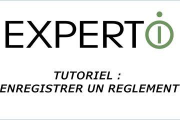 Expert.i • Tutoriel : comment enregistrer un réglement ?