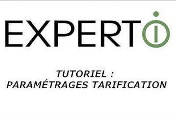 Expert.i • Tutoriel : Paramétrages de la tarification