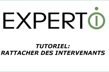 Expert.i • Tutoriel : comment rattacher des intervenants
