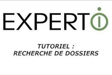 Expert.i • Tutoriel : Rechercher des dossiers